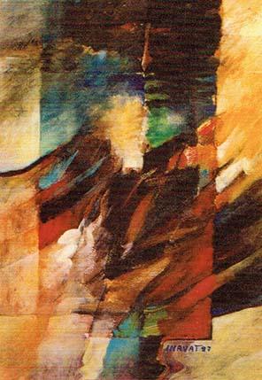 496 - L'última súplica - Hussein Habash - Quadro d'Inayat Attar